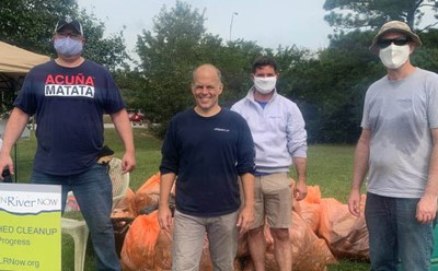 Waterfront Law Team Partners with Lynnhaven River NOW to Clean Lake Windsor
